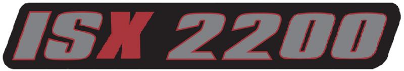 Ferris ISX 2200 Badge JUSTIN